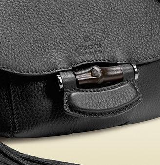 Gucci Nouveau Leather Shoulder Bag