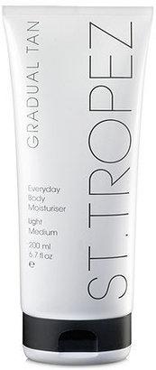 St. Tropez Gradual Tan Everyday Body Moisturizer, Light-Medium 6.8 oz (201 ml)