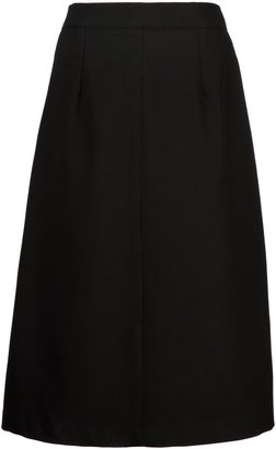 Unbranded Girls' School A-Line Skirt, Black