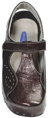 Wolky Varnished Leather T-Strap Clogs (For Women)