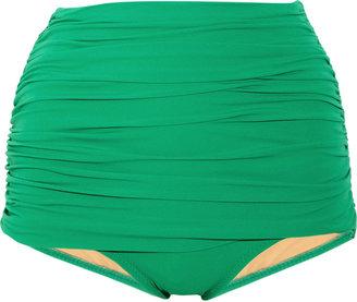 Norma Kamali Bill high-waisted bikini briefs
