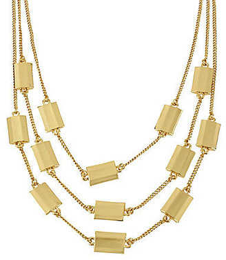 Kenneth Cole New York Modern Clementine Bead Illusion Necklace