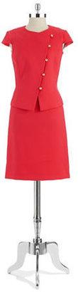 Tahari ARTHUR S. LEVINE Two-Piece Skirt Suit