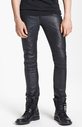BLK DNM 'Rock N Roll' Skinny Fit Leather Pants