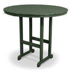 Trex Outdoor Monterey Bay Plastic/Resin Bar Table Trex Outdoor