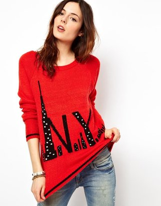 River Island NYC Sweater