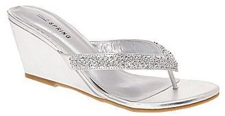 Call it SPRING Call It SpringTM Chynna Rhinestone Sandals