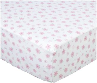Luvable Friends Fitted Crib Sheet 28x52