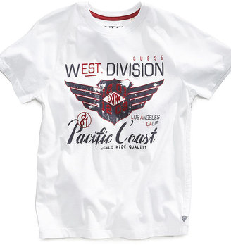 GUESS T-Shirt, Little Boys Pacific Coast Tee