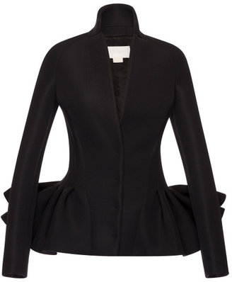 Antonio Berardi Neoprene Accordion Pleat Jacket