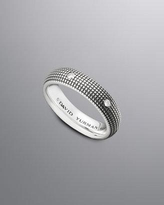 David Yurman Sky Band Ring, Diamond, 6mm