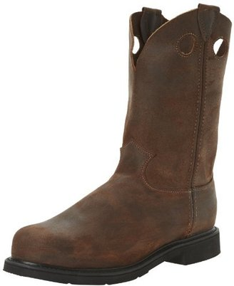 Justin Original Work Boots Men's American Traditionals PO ST Steel Toed Work Shoe