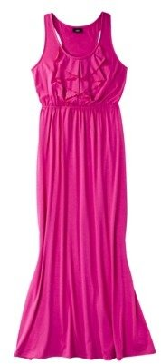Mossimo Petites Ruffle Front Maxi Dress - Assorted Colors