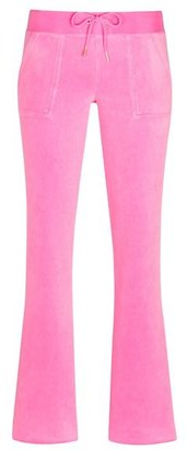 Juicy Couture Bootcut Pant in Velour