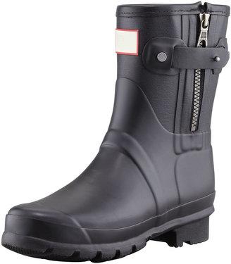 Hunter Rag & Bone Short Zip Boot, Black