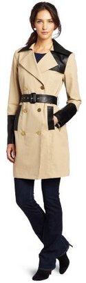 Cynthia Steffe Women's London Trench Coat