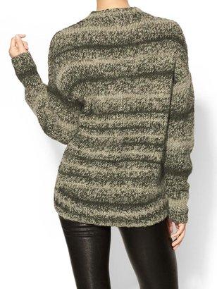Derek Lam 10 Crosby Crew Neck Knit Sweater