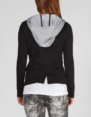 Hurley Winchester Womens Hooded Blazer