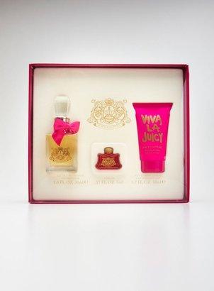 Juicy Couture 3 Piece Viva La Juicy Gift Set For Women