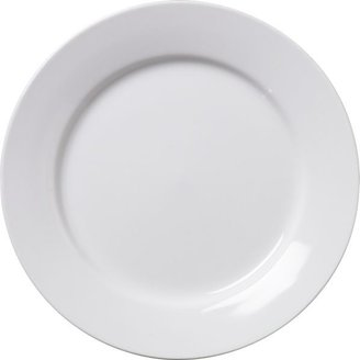 "Crate & Barrel Round Rim 6"" Appetizer Plate"