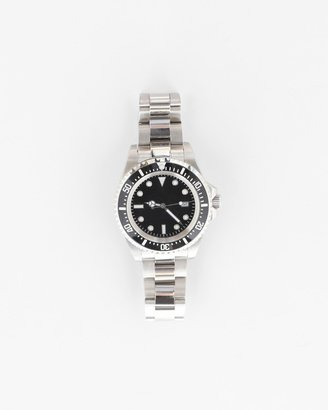 Military Watch Co. Submariner With Bracelet In Steel