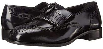 Florsheim Lexington Wingtip Tassel Slip-On (Black) Men's Slip-on Dress Shoes
