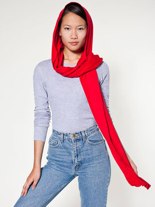American Apparel Unisex Hooded Scarf