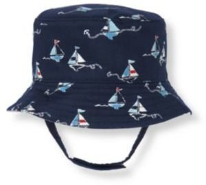 Janie and Jack Sailboat Reversible Hat