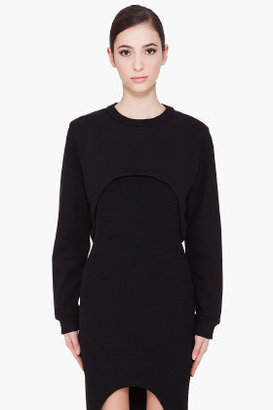 Givenchy Black Cutout Sweatshirt