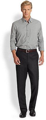 Saks Fifth Avenue Black Label Black Label Flannel Trousers