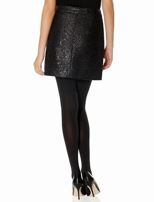The Limited Shimmery Tweed Mini Skirt