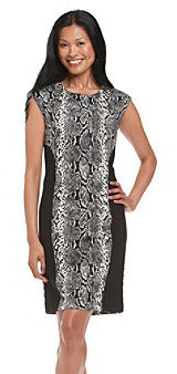 Chaus Snake Print Dress