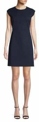 Theory Cap-Sleeve Dress