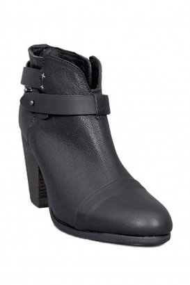 Rag and Bone Rag & Bone Harrow Leather Booties Black