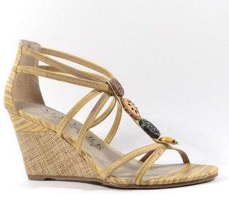 JLO by Jennifer Lopez New york transit shapely t-strap wedge sandals - women