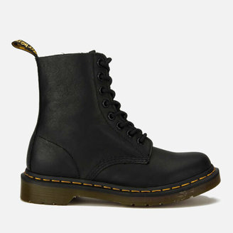 Dr. Martens Women's 1460 Pascal Virginia Leather 8-Eye Boots - Black
