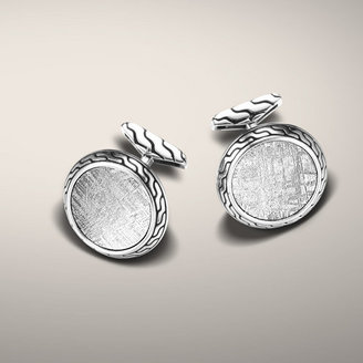 John Hardy CLASSIC CHAIN COLLECTION Round Cufflinks
