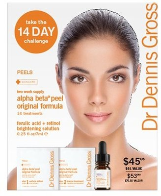 Dr. Dennis Gross Skincare Alpha Beta® Daily Face Peel 14-Day Challenge ($61 Value)