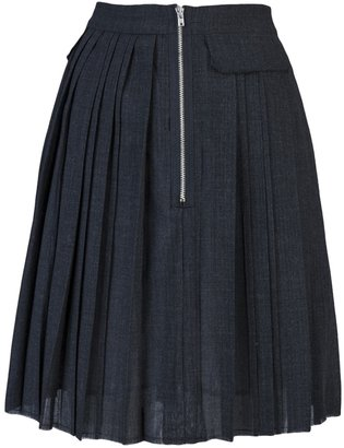Boy By Band Of Outsiders Pleated pocket skirt