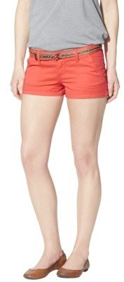 Mossimo Juniors Shorts with Belt - Assorted Colors