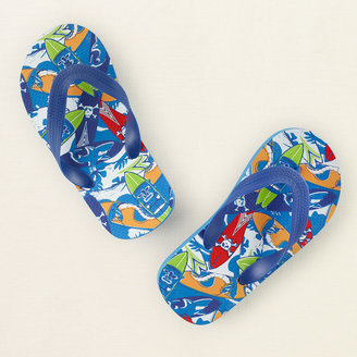 Children's Place Surf board flip flops