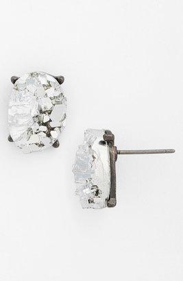 Topshop Raw Cut Stud Earrings