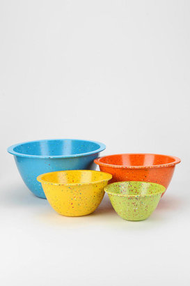 Urban Outfitters Confetti Mixing Bowl - Set Of 4