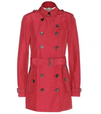 Burberry Brookesbylt cotton-blend trench coat