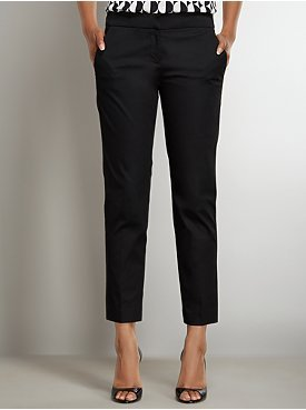 New York & Co. The 7th Avenue Gabardine Ankle Pant with Hardware Detail