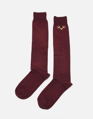 In God We Trust Horse Bit Socks
