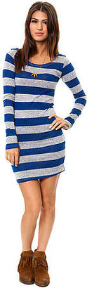 *MKL Collective The Varsity Striped Dress in Blue