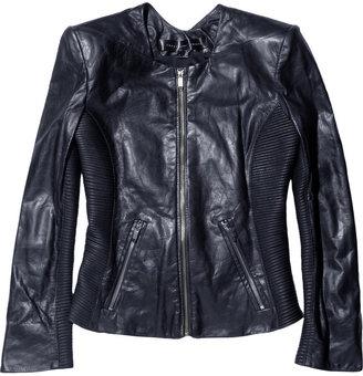 Theyskens' Theory Jadra leather jacket