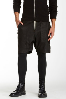 Zanerobe Gabe Genuine Leather Short $399 thestylecure.com