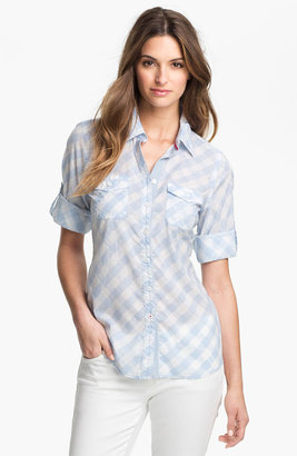 Shirt 469 'Bleached Denim' Shirt (Petite)